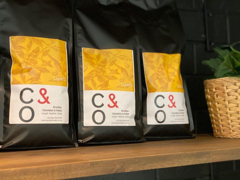 C&O coffee beans