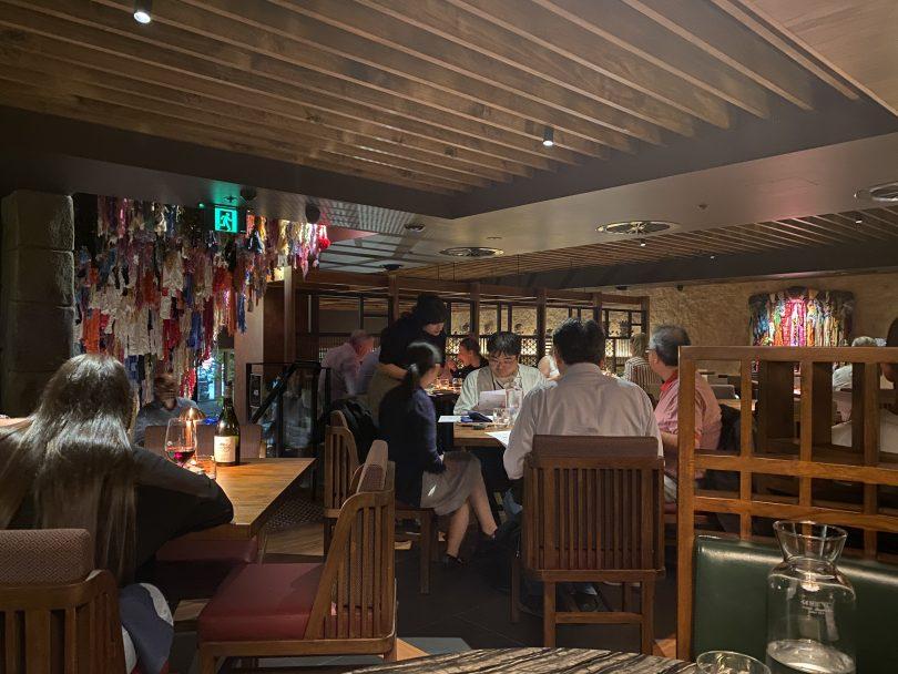 Inka restaurant, Canberra.