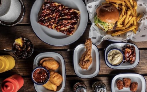 Hot in the City: All you can eat burgers, fried chicken and more at Grease Monkey