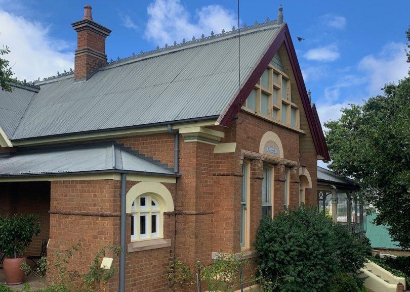 Exterior of 'Tarcoola' home in Goulburn.