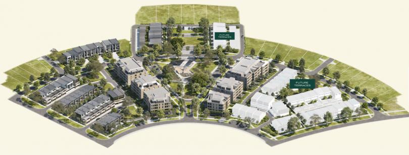 The Park's masterplan