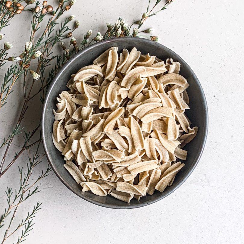 Quinoa based pasta