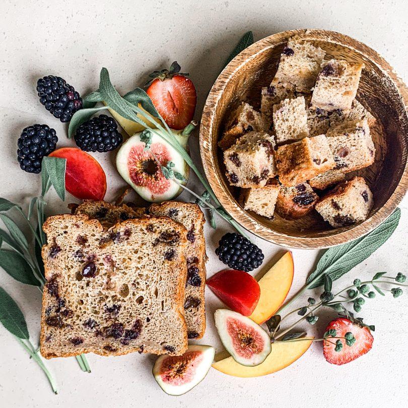 Gluten-free range of items