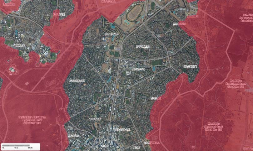 Bushfire-prone areas