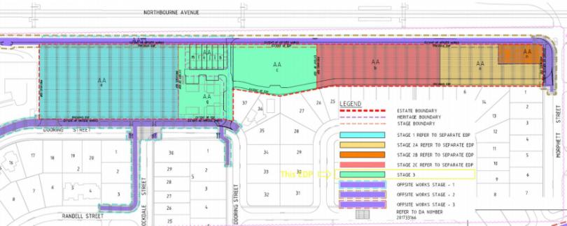 Site plan for Soho