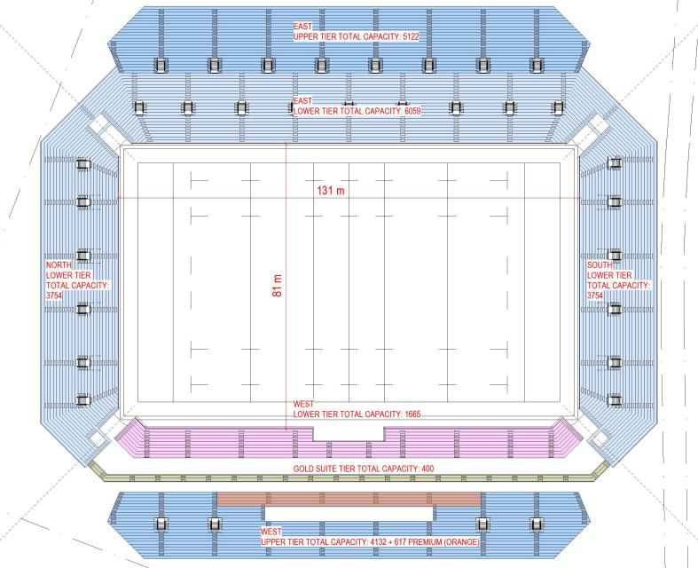 Civic Stadium design option