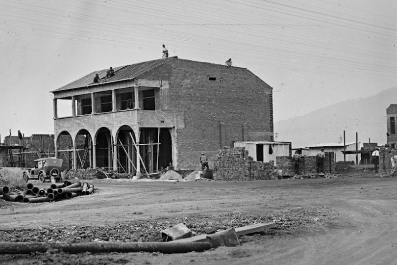 Part of Sydney Building under construction in 1926