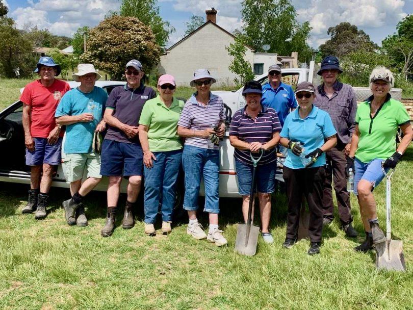 Goulburn Golf Club volunteers