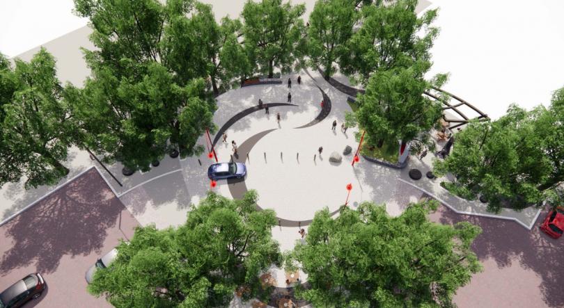 Dickson central plaza