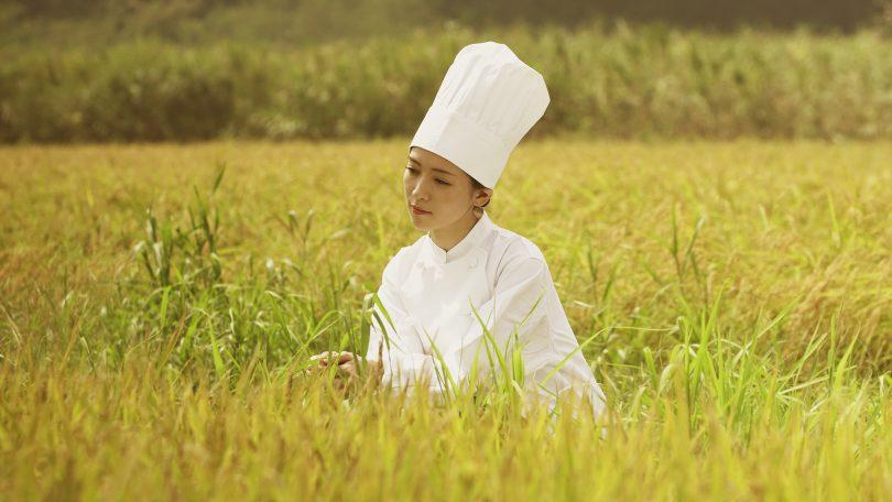 Yuuki Okumura in 'The menu for tomorrow'.