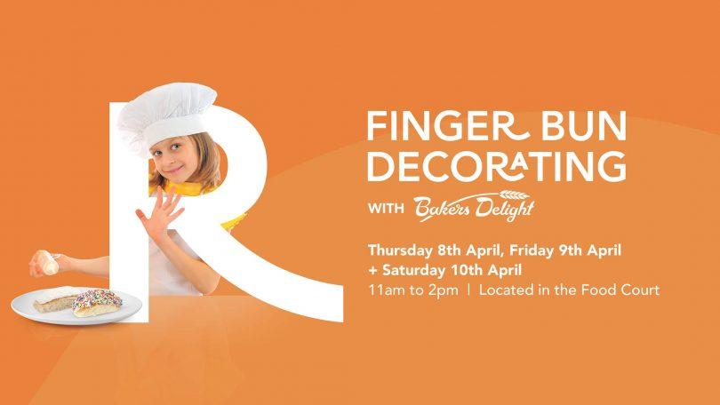 Finger bun advertisement