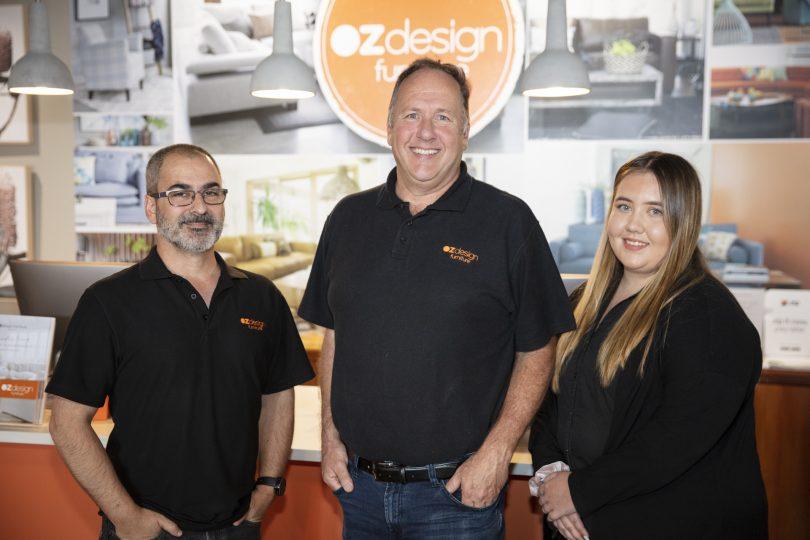 Peter Bond, Oz Design Furniture Fyshwick