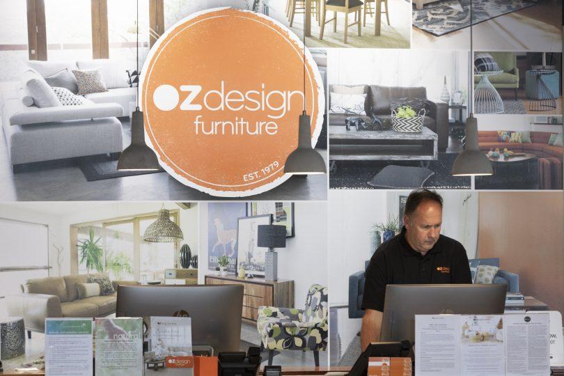 Peter Bond at OZ Design Furniture Fyshwick