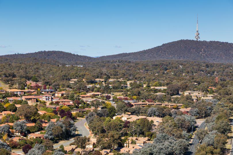 Housing, apartments, Black Mountain, Telstra Tower, urban