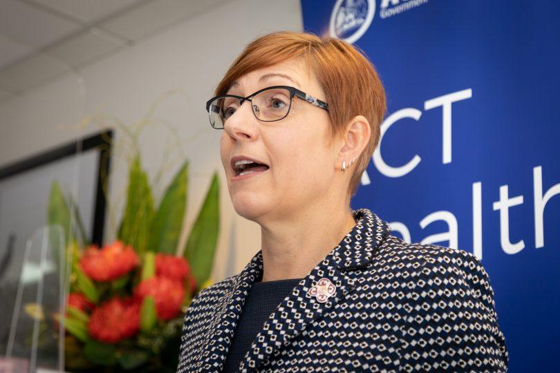 ACT Minister for Health Rachel Stephen-Smith