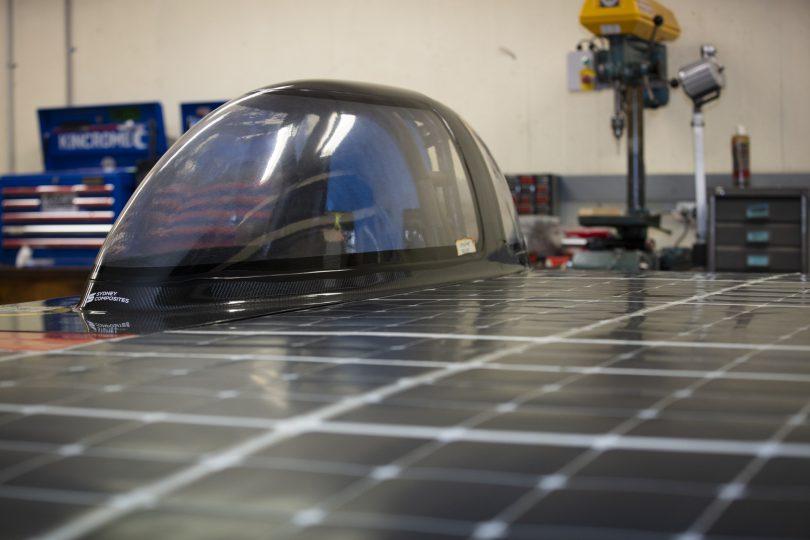ANU Solar Racing car