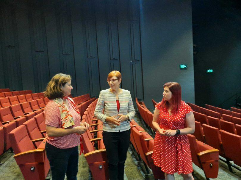 Gill Hugonnet, Rachel Stephen-Smith and Tara Cheyne