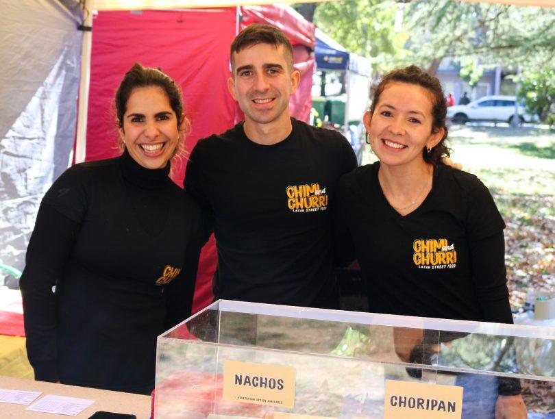 Maria Vasallo, Juan Guarino and Augustina Martin
