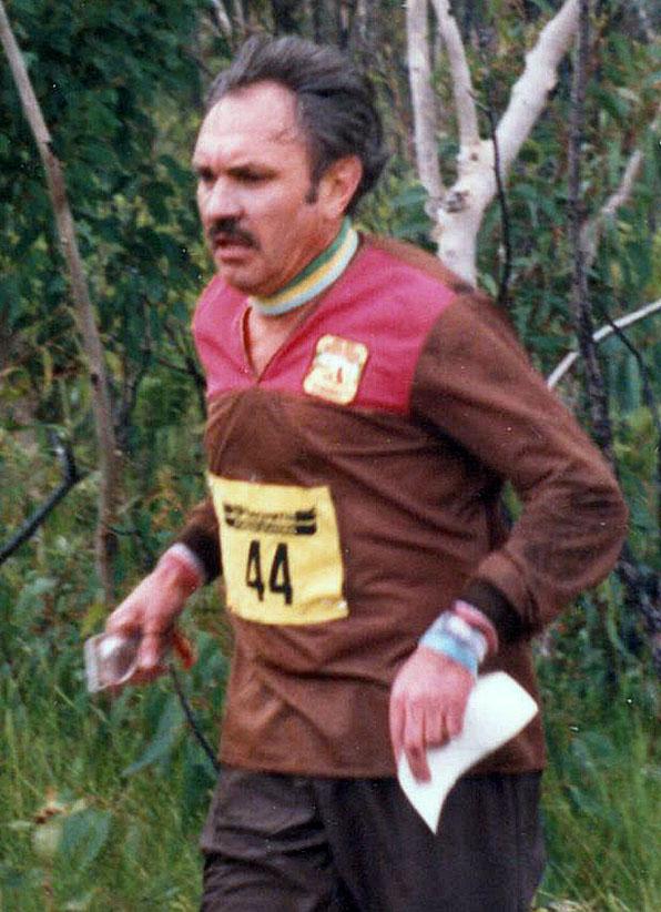 Bob Mouatt orienteering