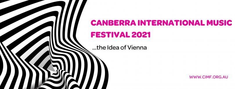 Banner for Canberra International Music Festival 2021