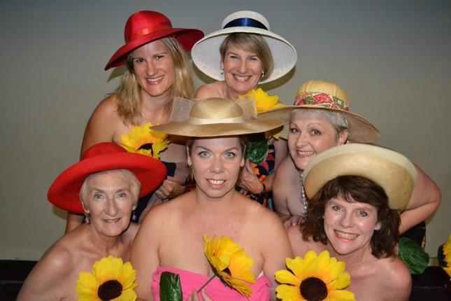 Cast of Lieder Theatre's Calendar Girls