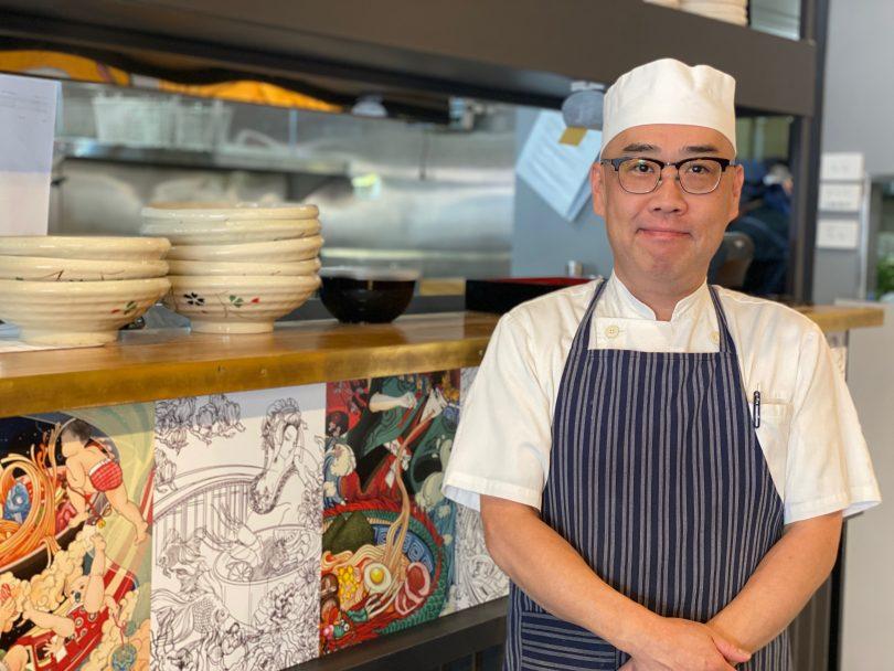 Chef Yuji Takeda