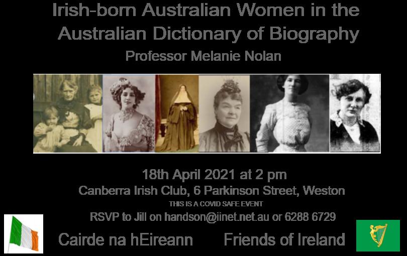 Irish-born Australian Women flyer