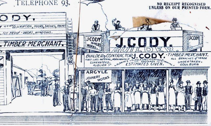 Illustration of J Cody store