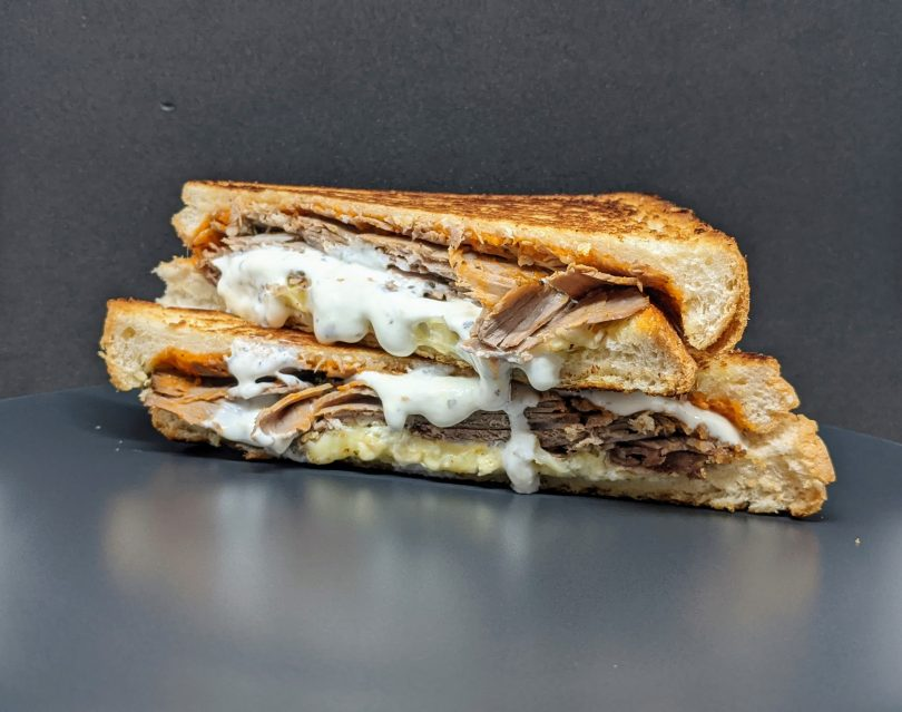 Melted Toasted Sandwich Emporium local ingredients