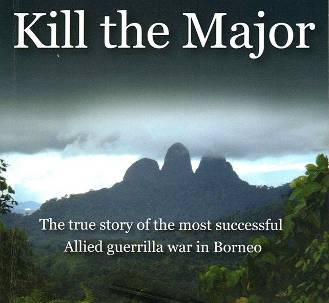 Paul Malone book cover, Kill the Major