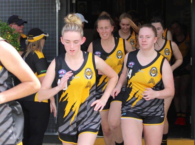 Queanbeyan Tigers women's players