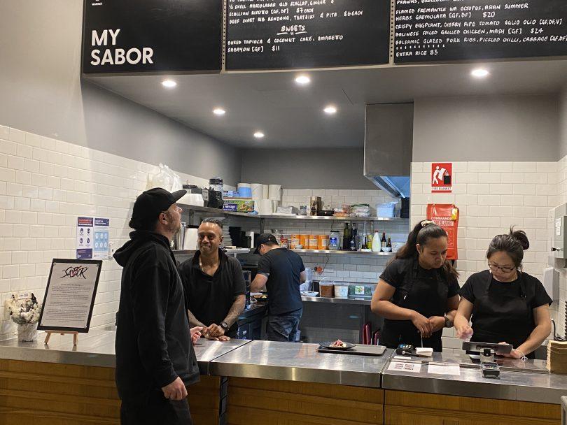 My Sabor customers