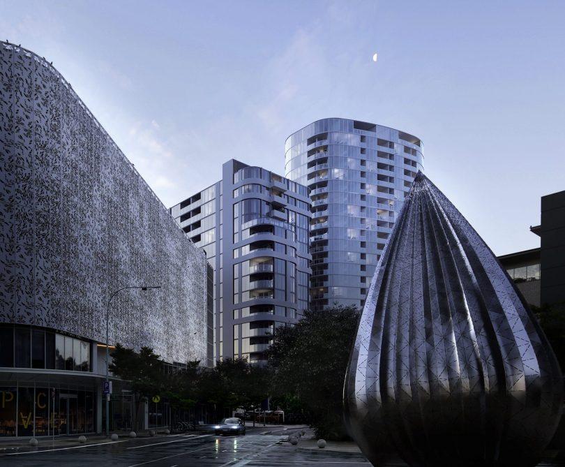 WOVA high-rise buildings