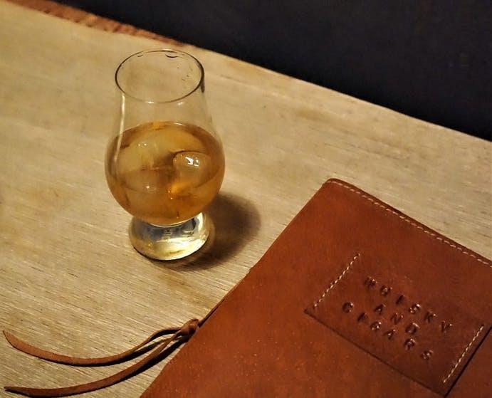 Whiskey tasting at Yazzbar