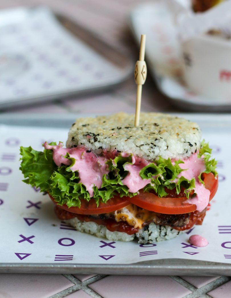 Mookie Sakura burger