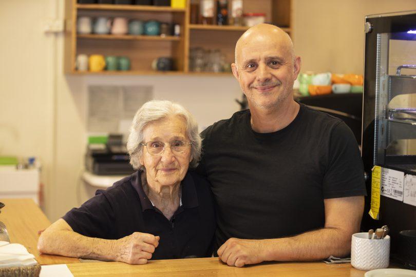 Denis and Eleni Sakkas at Melita