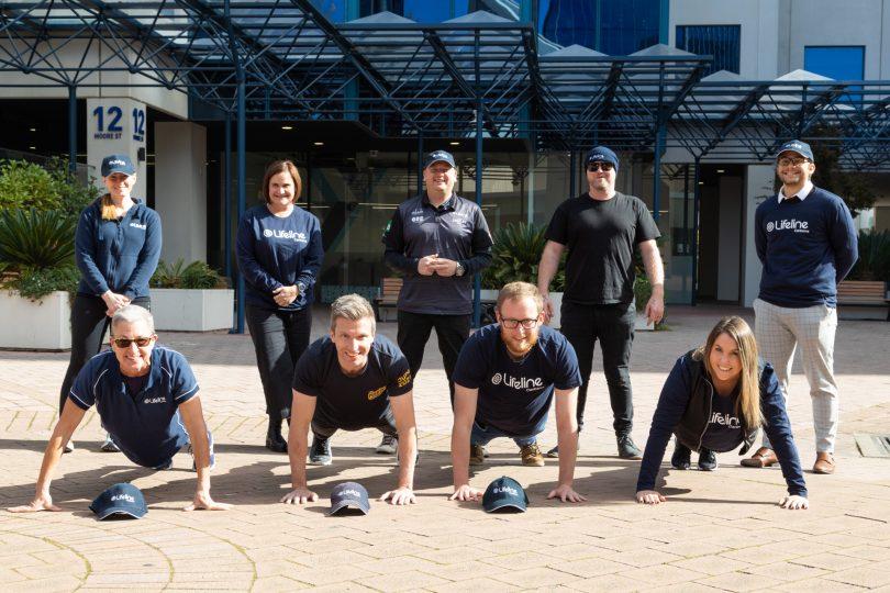 Lifeline pushup challenge