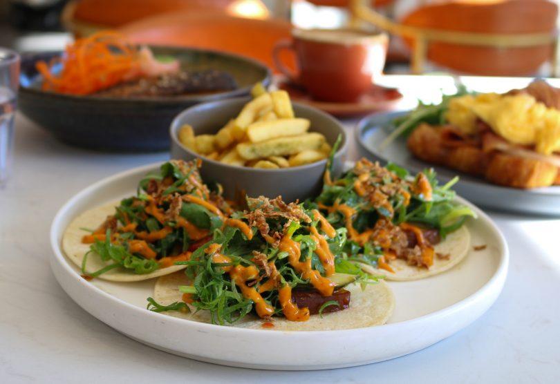 Char siu tacos