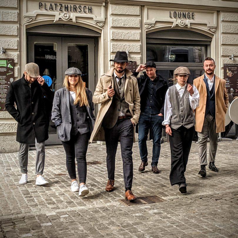 dressed up detectives