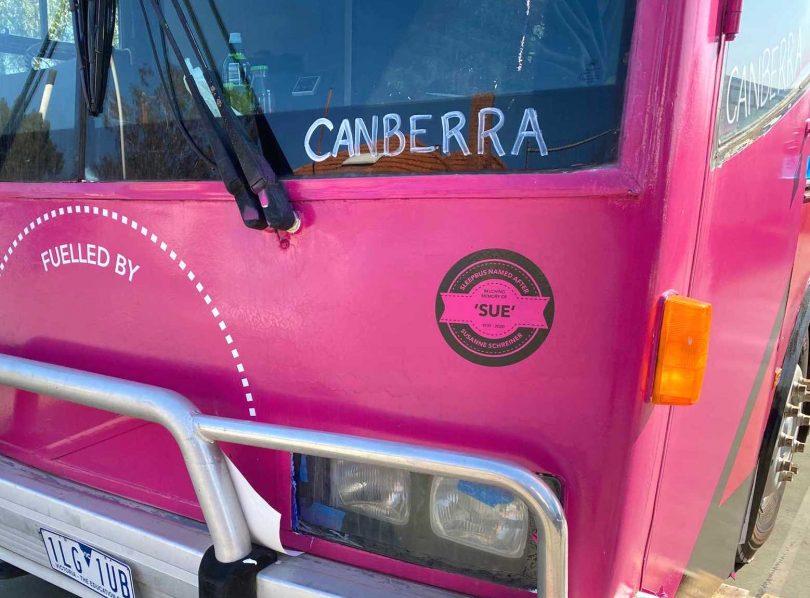 Canberra sleepbus
