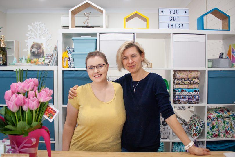 Morgan Thomas and Olga Imbriano