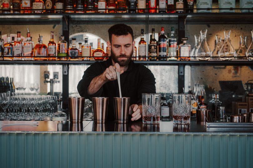 Bartender at Corella Bar and Restaurant