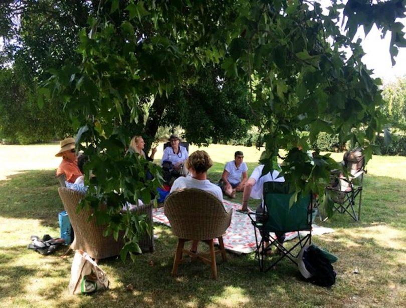 Women's circle picnic at Dalton