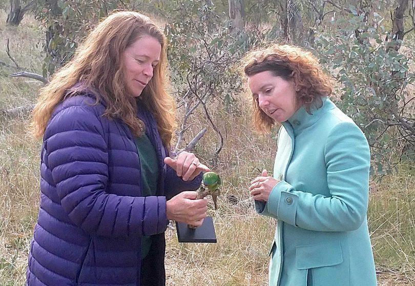 Dr Debbie Saunders and Rebecca Vassarotti
