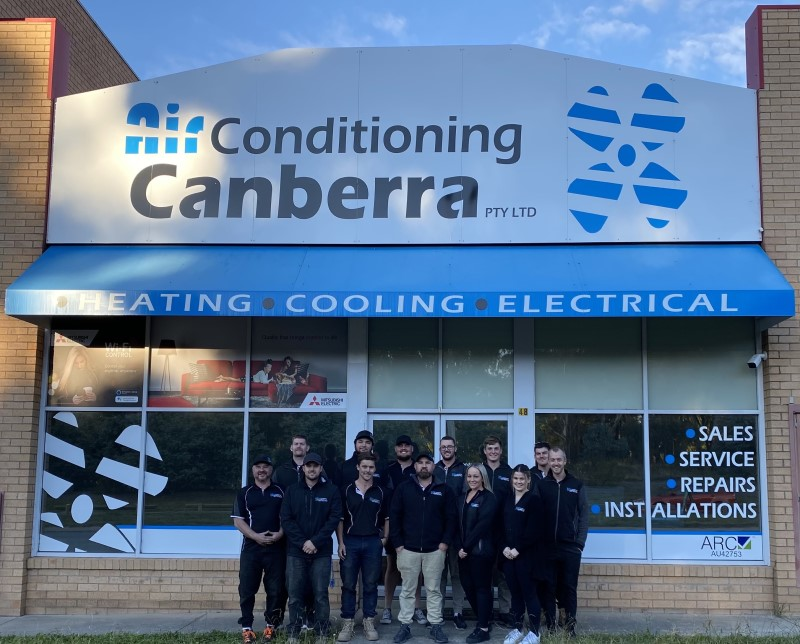 AirConditioning Canberra team