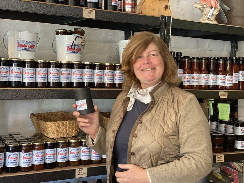 Cathy Kerslake at Old Produce Store Binalong, Yass Valley