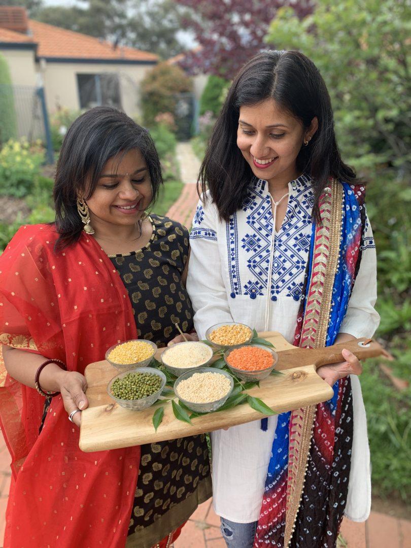 Simply Lentils co-founders Manjula Mishra and Amrita Burman