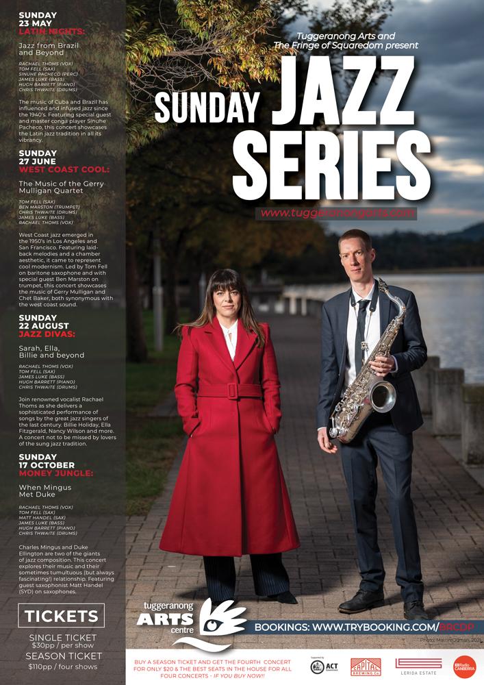 The Sunday Jazz Series promo
