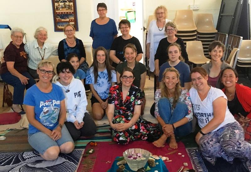 Gathering of women's circle