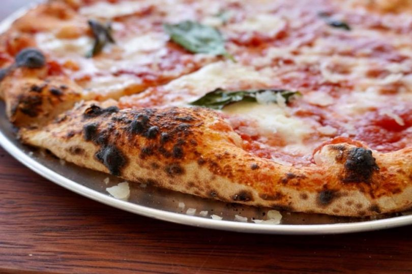 Margherita at the Department of Pizza